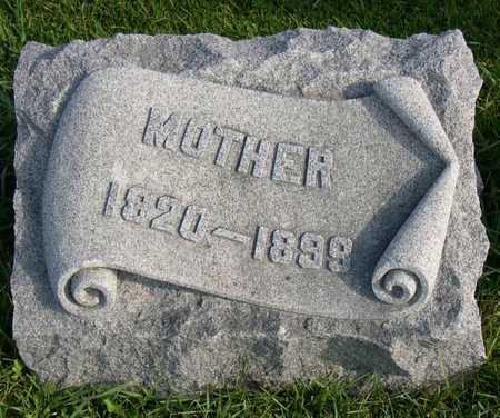 MILLER, MOTHER - Linn County, Iowa | MOTHER MILLER