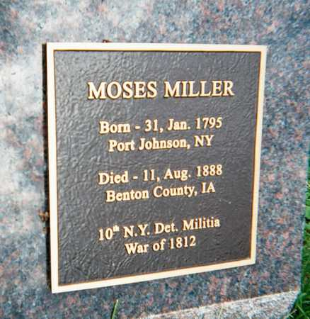 MILLER, MOSES - Linn County, Iowa | MOSES MILLER