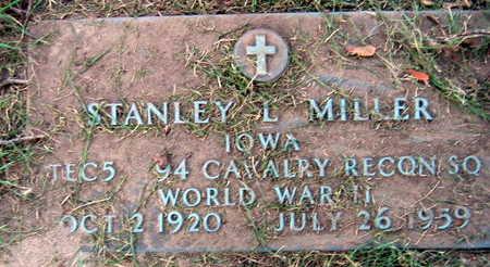 MILLER, STANLEY L. - Linn County, Iowa | STANLEY L. MILLER