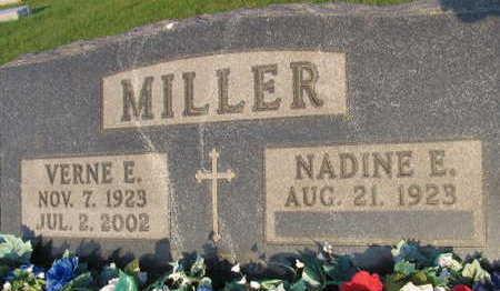 MILLER, VERNE E. - Linn County, Iowa   VERNE E. MILLER