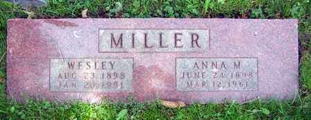 MILLER, WESLEY - Linn County, Iowa | WESLEY MILLER