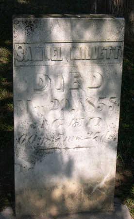 MILLETT, SAMUEL - Linn County, Iowa | SAMUEL MILLETT
