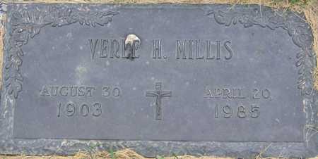 MILLIS, VERLE H - Linn County, Iowa | VERLE H MILLIS