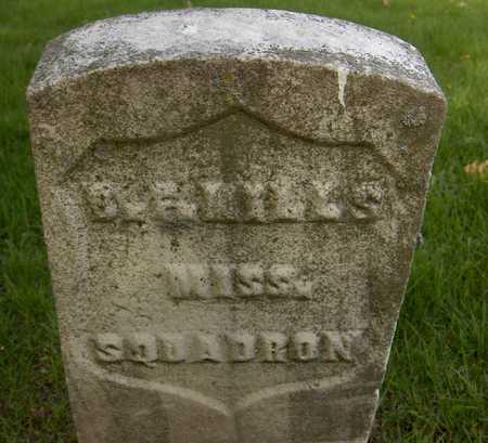 MILLS, B.F. - Linn County, Iowa | B.F. MILLS