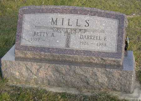 MILLS, DARRELL F. - Linn County, Iowa | DARRELL F. MILLS