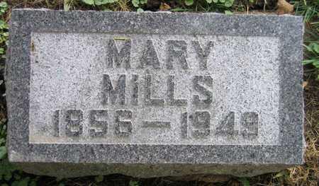 MILLS, MARY - Linn County, Iowa | MARY MILLS