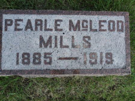 MCLEOD MILLS, PEARLE - Linn County, Iowa | PEARLE MCLEOD MILLS