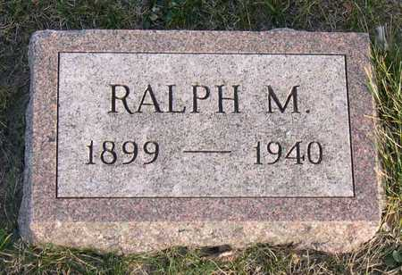 MILLS, RALPH M - Linn County, Iowa   RALPH M MILLS