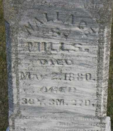 MILLS, WALLACE - Linn County, Iowa | WALLACE MILLS