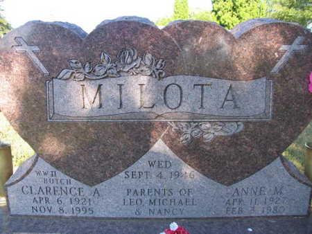 MILOTA, ANNE M. - Linn County, Iowa | ANNE M. MILOTA
