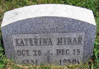 MINAR, KATHERINA - Linn County, Iowa | KATHERINA MINAR
