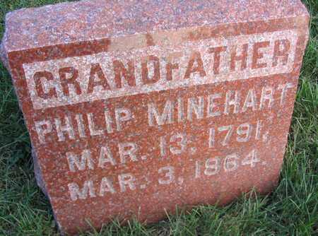 MINEHART, PHILIP - Linn County, Iowa   PHILIP MINEHART