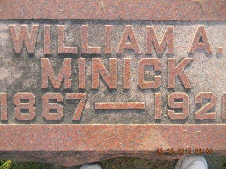 MINICK, WILLIAM A. - Linn County, Iowa | WILLIAM A. MINICK