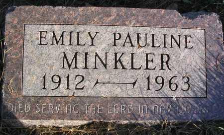 MINKLER, EMILY PAULINE - Linn County, Iowa | EMILY PAULINE MINKLER