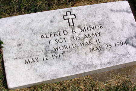 MINOR, ALFRED R. - Linn County, Iowa | ALFRED R. MINOR