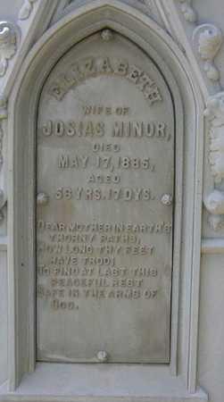MINOR, ELIZABETH - Linn County, Iowa   ELIZABETH MINOR