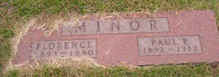MINOR, FLORENCE - Linn County, Iowa   FLORENCE MINOR