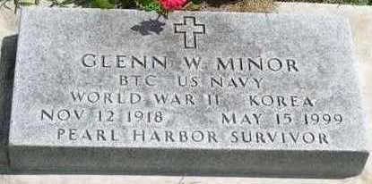 MINOR, GLENN W. - Linn County, Iowa | GLENN W. MINOR