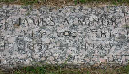 MINOR, JAMES A. - Linn County, Iowa | JAMES A. MINOR