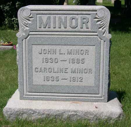 MINOR, CAROLINE - Linn County, Iowa | CAROLINE MINOR