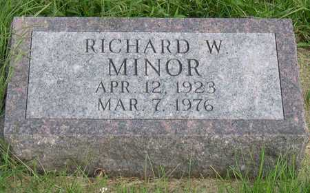 MINOR, RICHARD W. - Linn County, Iowa | RICHARD W. MINOR