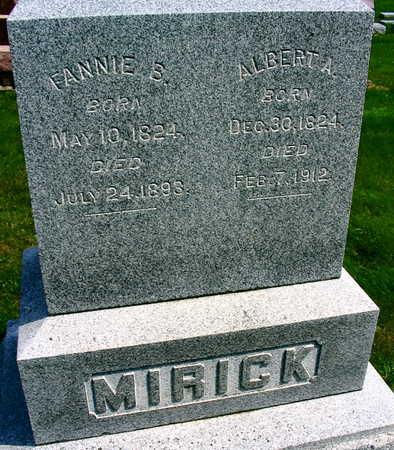 MIRICK, ALBERT A. - Linn County, Iowa   ALBERT A. MIRICK