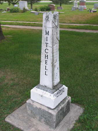 MITCHELL, FAMILY STONE - Linn County, Iowa | FAMILY STONE MITCHELL