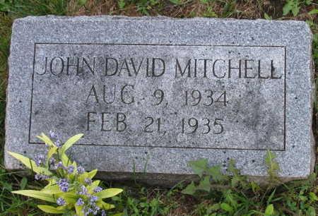MITCHELL, JOHN DAVID - Linn County, Iowa | JOHN DAVID MITCHELL