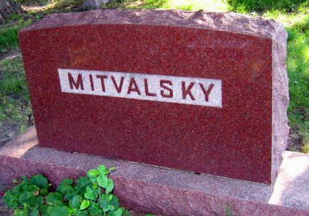 MITVALSKY, FAMILY STONE - Linn County, Iowa | FAMILY STONE MITVALSKY
