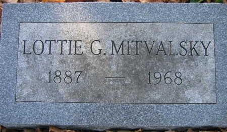MITVASLSKY, LOTTIE G. - Linn County, Iowa | LOTTIE G. MITVASLSKY