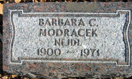 NEJDL MODRACEK, BARBARA C. - Linn County, Iowa | BARBARA C. NEJDL MODRACEK