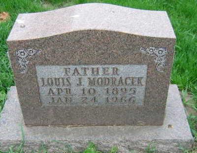 MODRACEK, LOUIS J. - Linn County, Iowa | LOUIS J. MODRACEK