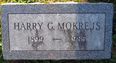 MOKREJS, HARRY G. - Linn County, Iowa | HARRY G. MOKREJS