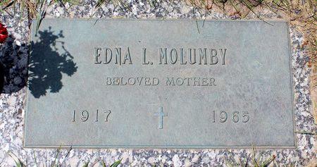 MOLUMBY, EDNA L. - Linn County, Iowa | EDNA L. MOLUMBY