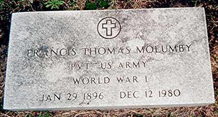 MOLUMBY, FRANCIS THOMAS - Linn County, Iowa | FRANCIS THOMAS MOLUMBY