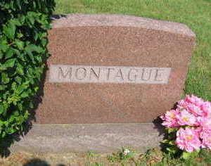 MONTAGUE, FAMILY STONE - Linn County, Iowa | FAMILY STONE MONTAGUE