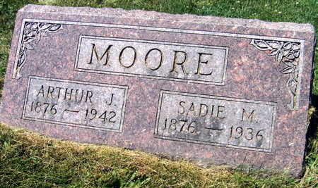 MOORE, ARTHUR J. - Linn County, Iowa   ARTHUR J. MOORE