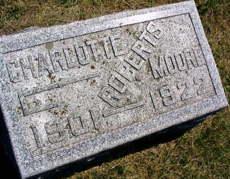 ROBERTS MOORE, CHARLOTTE - Linn County, Iowa   CHARLOTTE ROBERTS MOORE