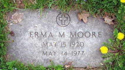 MOORE, ERMA M. - Linn County, Iowa | ERMA M. MOORE