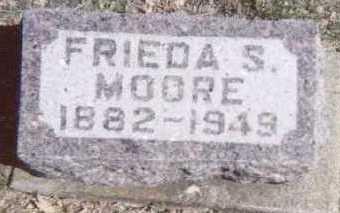 MOORE, FRIEDA S. - Linn County, Iowa   FRIEDA S. MOORE
