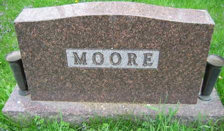 MOORE, FAMILY STONE - Linn County, Iowa | FAMILY STONE MOORE