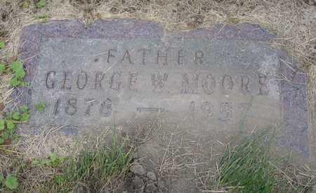 MOORE, GEORGE W. - Linn County, Iowa | GEORGE W. MOORE