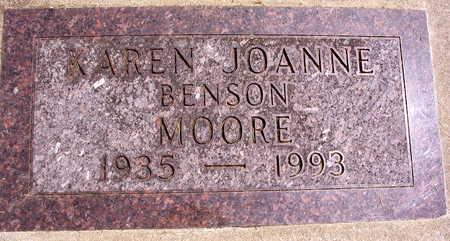BENSON MOORE, KAREN JOANNE - Linn County, Iowa | KAREN JOANNE BENSON MOORE
