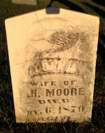 MOORE, LYDIA A - Linn County, Iowa   LYDIA A MOORE