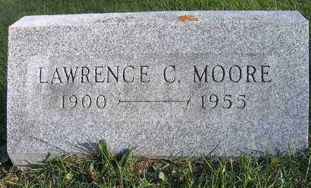 MOORE, LAWRENCE C. - Linn County, Iowa   LAWRENCE C. MOORE