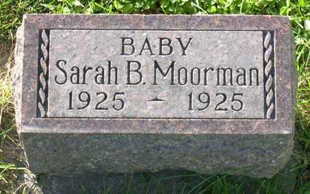 MOORMAN, SARAH B. - Linn County, Iowa   SARAH B. MOORMAN