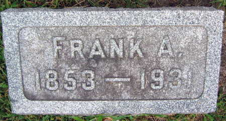 MORAVEC, FRANK A. - Linn County, Iowa   FRANK A. MORAVEC
