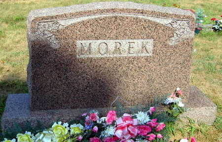 MOREK, FAMILY STONE - Linn County, Iowa | FAMILY STONE MOREK