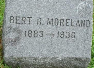 MORELAND, BERT R. - Linn County, Iowa | BERT R. MORELAND