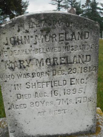 MORELAND, JOHN - Linn County, Iowa   JOHN MORELAND